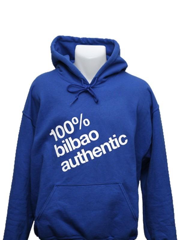"Sudadera ""100% Bilbao Authentic"""