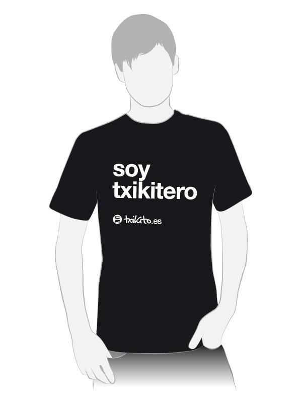 """Camiseta """"Soy Txikitero"""""""