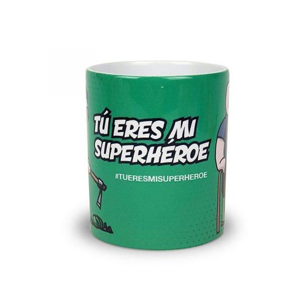 """Taza Agricultor@ & Ganader@ """"Tu eres mi Superhéroe"""""""