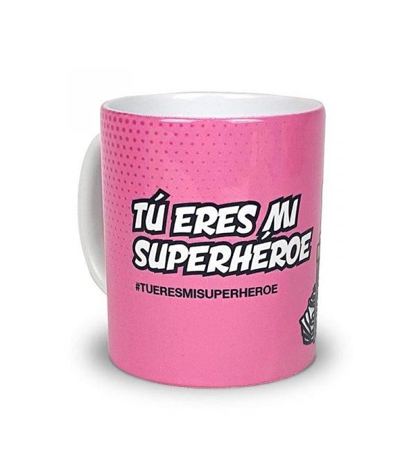 """Taza Costurer@s """"Tu eres mi Superhéroe"""""""