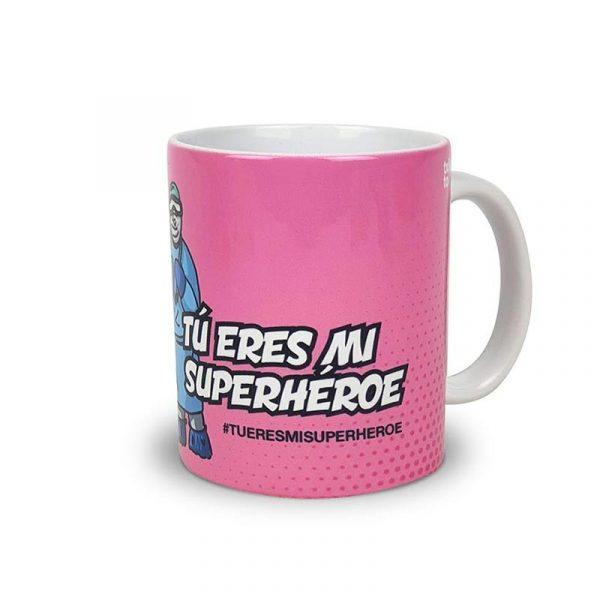 """Taza Cuidador@s & Médic@s """"Tu eres mi Superhéroe"""""""