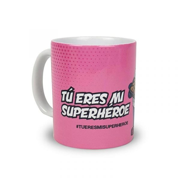 "Taza Panader@ ""Tu eres mi Superhéroe"""