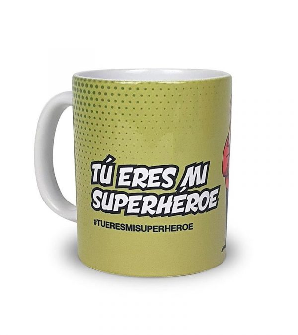 "Taza Periodismo ""Tu eres mi Superhéroe"""